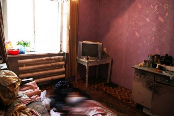 Обезглавленный труп женщины обнаружен в квартире дома в Советском районе