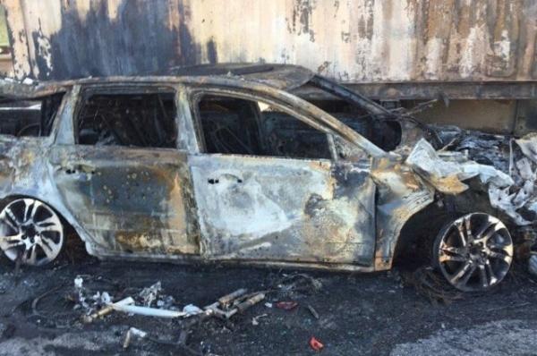 Автомобиль «БМВ-Х6» сгорел в Заволжье