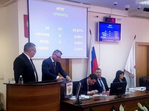 Голосование по выбору главы Нижнего Новгорода проходит в Гордуме