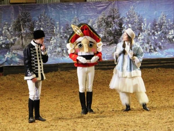 Конный театр эко-клуба «Ассамблея» покажет спектакль «Щелкунчик»