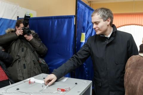 Мэр Нижнего Новгорода проголосовал на выборах Президента РФ