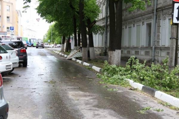 Нижегородцы сообщают о последствиях удара стихии