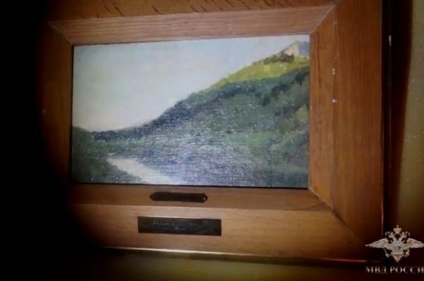 Завершено расследование дела о похищении картин Шишкина и Левитана