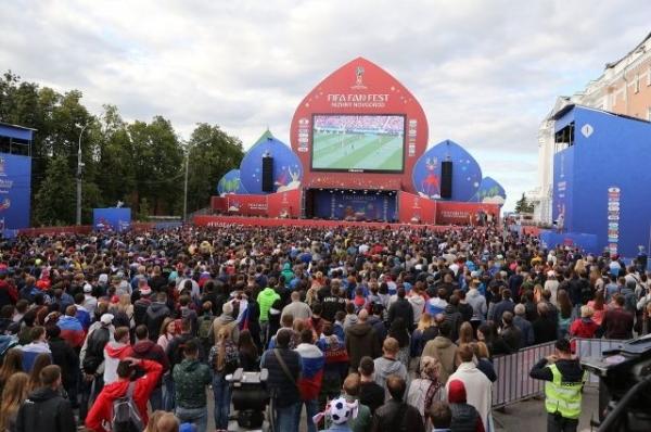Программа фестиваля болельщиков FIFA в Нижнем Новгороде на весь ЧМ-2018