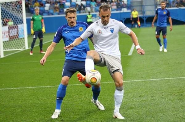 ФК «Нижний Новгород» сыграл вничью с «Лучом» из Владивостока