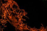 В Дивееве сгорел дом из-за неосторожности при приготовлении пищи