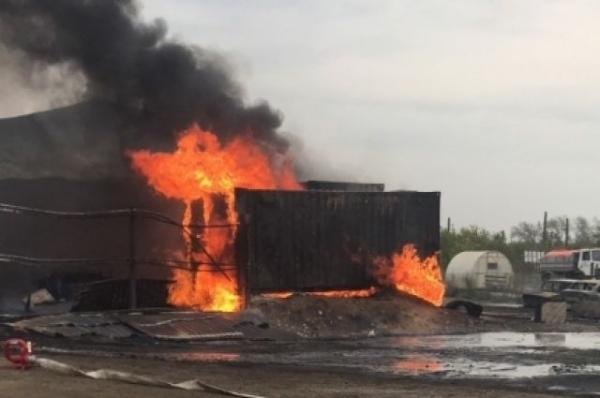 В Дзержинске один человек погиб при пожаре на химическом предприятии