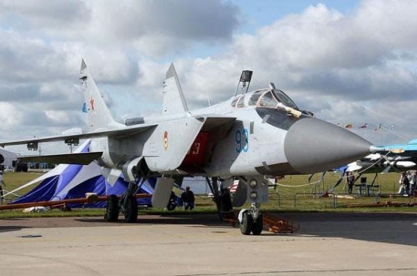 В Нижегородской области упал истребитель МиГ-31