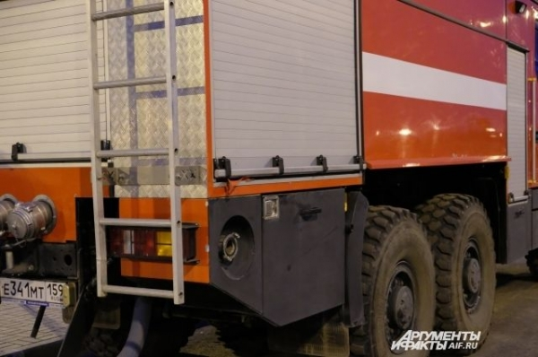 В Нижнем Новгороде произошел пожар в здании бывшего КЗ «Юпитер»