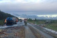 В Нижнем Новгороде троллейбус врезался в грузовик