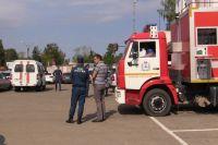 В Дзержинске произошел пожар на химическом предприятии