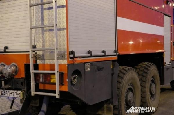 В Нижегородской области неизвестные подожгли пилораму