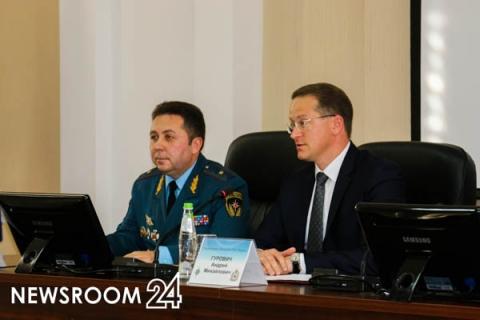 Валерий Синьков возглавил региональное ГУ МЧС России