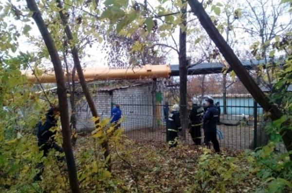В Нижнем Новгороде стрела автокрана упала на пристрой к детсаду