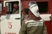 В Нижнем Новгороде при пожаре на улице Варварской пострадал мужчина
