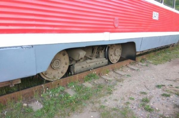 В Нижнем Новгороде трамвай врезался в грузовик «МАЗ»