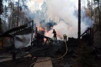 В Шахунье при пожаре в жилом доме погиб мужчина