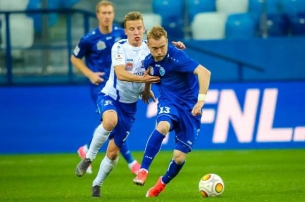 ФК «Нижний Новгород» сыграл вничью с «Балтикой»