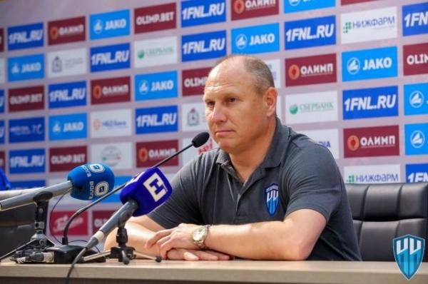 Дмитрий Черышев продолжит тренировать «Нижний Новгород»