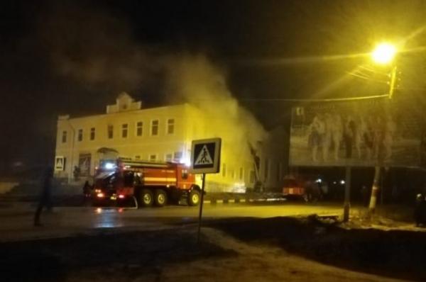 В Сергаче 200 человек эвакуированы при пожаре в Доме культуры