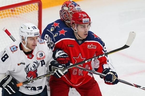«Торпедо» уступило ЦСКА во втором матче плей-офф