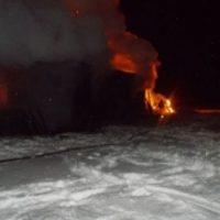 В Нижегородской области при пожаре погиб 81-летний мужчина