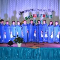 Открытие кинофестиваля  песни  «Волшебный мир кино» в Ковернинском районе