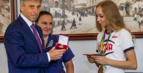 Гимнастке Максимовой вручили высшую награду Нижнего Новгорода