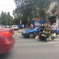 Автомобиль сбил женщину на Московском шоссе в Нижнем Новгороде