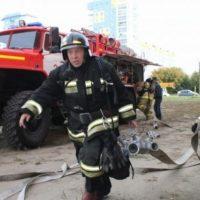 В Нижнем на улице Генкиной сгорел магазин из-за поджога