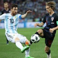 «Шашкой» по Месси. Как сборная Хорватии разгромила команду Аргентины