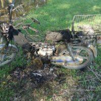 В Городецком районе 11-летний водитель мопеда пострадал, врезавшись в автом