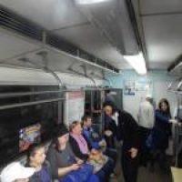 Областная детская библиотека в День А.С. Пушкина провела экспромт-прогулку «Пушкин едет на метро»