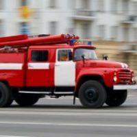 В Нижнем Новгороде сгорел мусоровоз. Водитель в больнице.