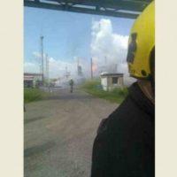 В Нижегородской области потушили цистерну со сжиженным газом