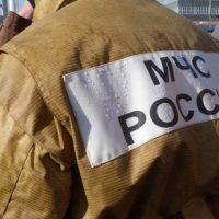 Грузовик «КамАЗ» сгорел из-за неисправности в поселке Ковернино