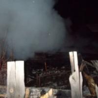 В Нижегородской области при пожаре погибли двое мужчин