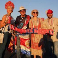 Объединенные футболом. Таксист, волонтеры и журналисты — о ЧМ-2018
