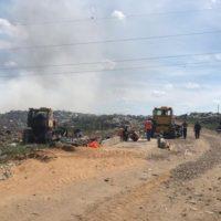 Завершено расследование причин пожара на мусорном полигоне в регионе