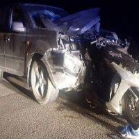 Пассажир мотоцикла погиб в аварии в Богородске