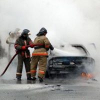 Два автомобиля горели из-за неисправности в Нижегородской области