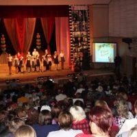 Битва хоров в Краснобаковском районе