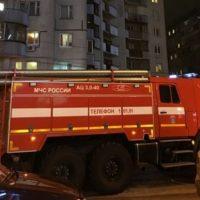 Очевидец: в Нижнем Новгороде на улице Касьянова произошел пожар