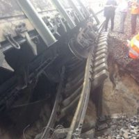 Из-за схода вагонов в Нижегородской области задерживаются 12 поездов