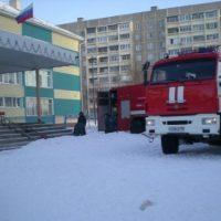 В Выксе более 380 человек эвакуировали при пожаре в школе