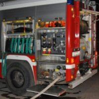 В поселке Юганец Володарского района сожгли две бани и постройки