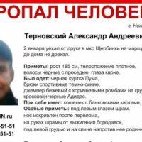 В Нижнем Новгороде ищут 38-летнего Александра Терновского