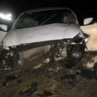 В Нижегородской области KIA врезался в трубу, пострадали 4 человека