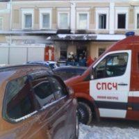 Опубликованы фото пожара в нижегородском баре «Шустрый шмэль»