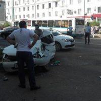 Названы официальные причины ДТП с автобусом на проспекте Ленина